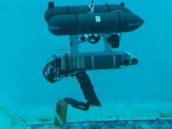 El robot autònom que es va provar la setmana passada a la UdG EL PUNT