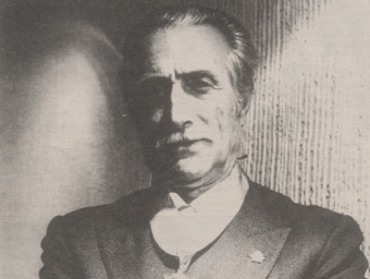 Pere Plana, l'any 1992, quan va rebre la medalla al mèrit agrari.