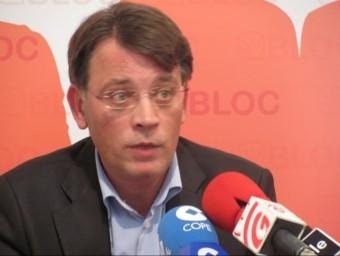 Josep M. Moya és el síndic portaveu de Compromís a Gandia. ARXIU
