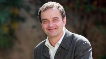 Alfred Bosch, ahir a la seu dels diaris El Punt i Avui, a Barcelona ANDREU PUIG