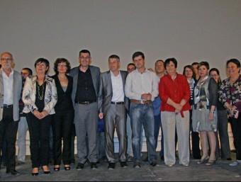 Candidatura de Compromís a les eleccions municipals de 2011. EL PUNT-AVUI