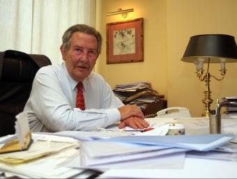 David Moner, en el seu despatx a la seu de la UFEC. ORIOL DURAN