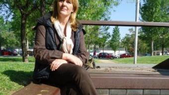 Straatman és la gerent de l'agència receptora dels joves que participen en el Saloufest G. P