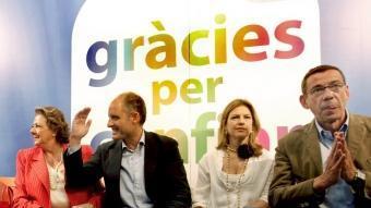 Antonio Clemente, a la dreta de la imatge. EFE