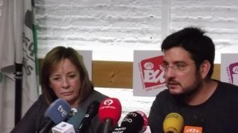 Marga Sanz i Ignasi Blanco. Foto:REDACCIÓ