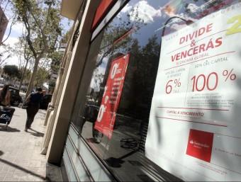 Banc Santander formarà part del nou organisme privat britànic CB:PSB que promou estàndars més ètics.  ARXIU/ CRISTINA CALDERER