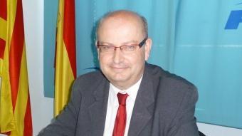 Josep Ramon fotografiat a la seu del PP de Vilafranca en una imatge d'arxiu A.M