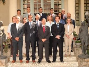 El nou equip directiu de la SGE.  J. LÓPEZ / SGE