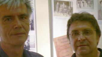 Harald Piotrowski i Carlos García, a les Bernardes de Salt PAU LANAO