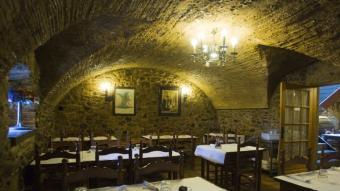 Imatge actual de l'interior del restaurant. LLUÍS SERRAT
