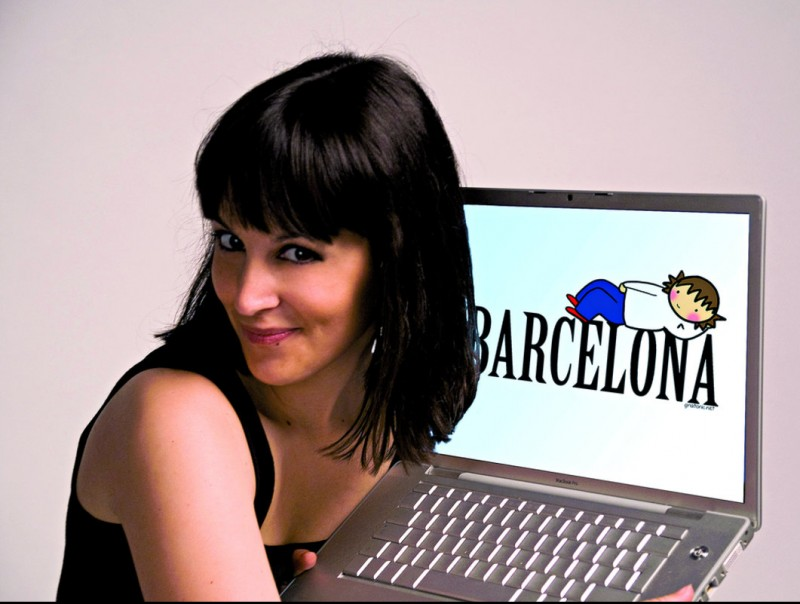 """Gina Tost és una de les presentadores de l'espai """"Generació Digital"""" a Catalunya Ràdio i el 33."""
