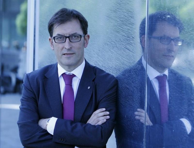 Xavier López treballa en un pla d'emprenedoria.  ARXIU / ORIOL DURAN