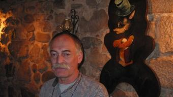 Albert Vila propietari del Cau del Llop fins al 2005  MIQUEL RUIZ