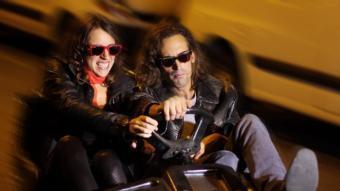 Una imatge del videoclip d'El esqueleto de Sávats