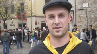 Jordi Pla, president de la colla gegantera Fal·lera gironina.