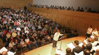 El Cor Maragall, ara fa dos anys MANEL LLADÓ