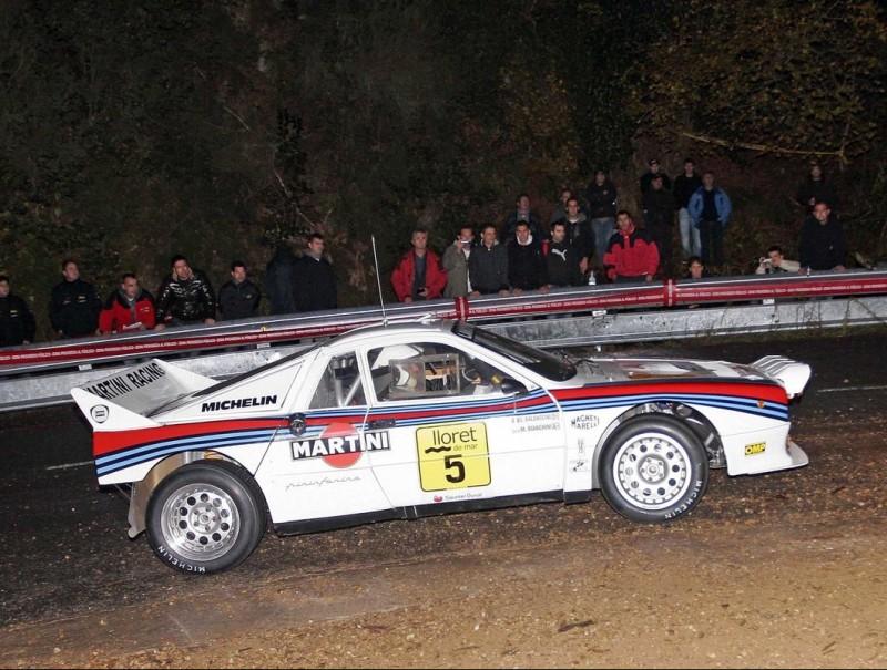 El Lancia 037 de Bianchini, guanyador del 2010. EL 9
