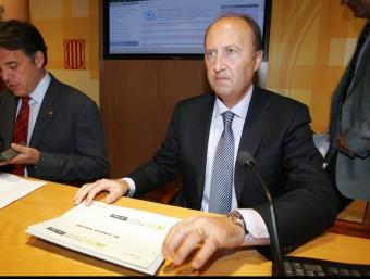 Lleonard Carcolé, director de l'ACA.  JUANMA RAMOS