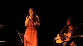 Sílvia Pérez Cruz i Refree, a l'escenari del Municipal T. TÀPIA / ACN