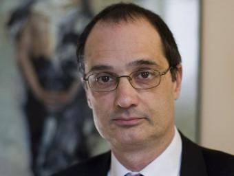 X. Bosch és director general per a la immigració.  Foto:ARXIU / R. RAMOS