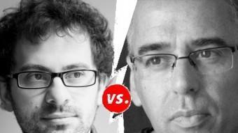 Llàtzer Garcia s'enfrontarà a Jordi Galceran a La Planeta. Una imatge de promoció del combat. J.C