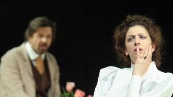 Una imatge del muntatge 'Oncle Vània', del Maly Teatr, dirigit per Lev Dodin V. BABRIKEV