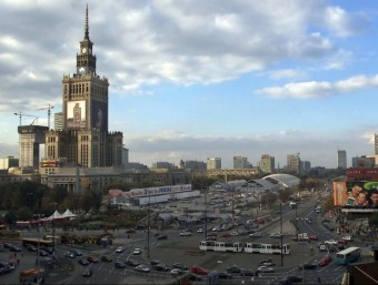 Varsòvia va ser durant els anys del boom immobiliari un dels destins favorits per al sector promotor.  Foto:ARXIU