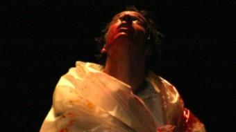 Ï, l'exiliat que interpreta Blai Mateu. R. BONCOMPTE