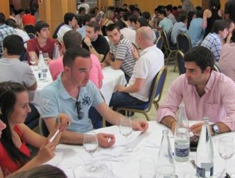 Taller de creativitat de joves a l'hotel Sol Melià de la Fundació Príncep de Girona.  DANI VILA