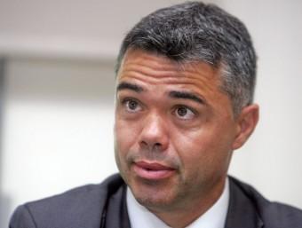 Ivan Tibau, ha completat el seu primer any com a secretari general de l'esport. J. RAMOS