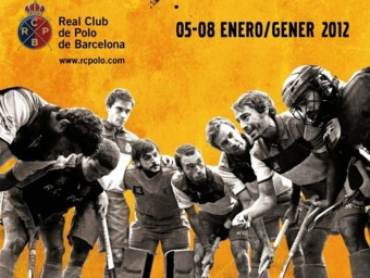 El cartell d'aquest any del torneig internacional Hoquei Reis. R.C.P