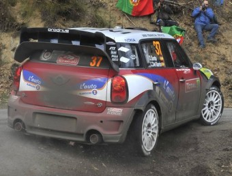 Sordo , en un tram d'aquest ral·li. MINI WRC TEAM