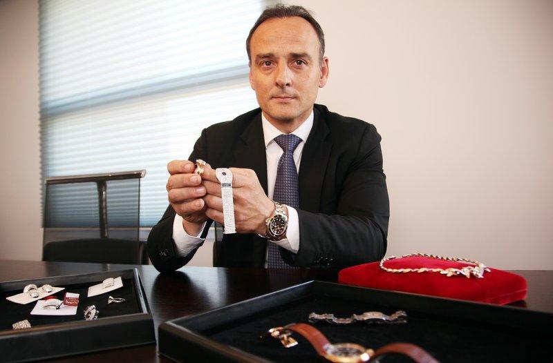 3a16ae4d6e4a Xavier Cunill és el màxim directiu de Circa Jewels a Europa. A la imatge