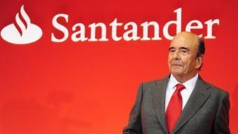 Emilio Botín és el president del Santander, entitat que va trencar amb el grup dels 'Set Magnífics' el 1989.  ARXIU
