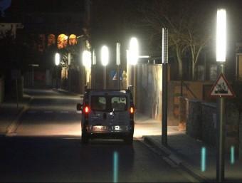 Molts ajuntaments han aplicat polítiques d'estalvi a l'enllumenat públic del municipi per pagar menys energia.  Foto:ARXIU