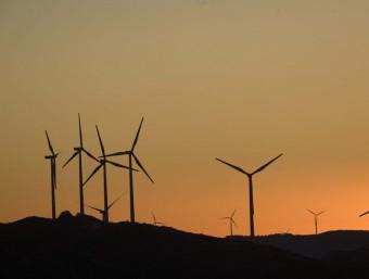 La promoció de les energies verdes es concreta en el pla en una inversió de més de 10.000 milions d'euros.  Foto:ARXIU
