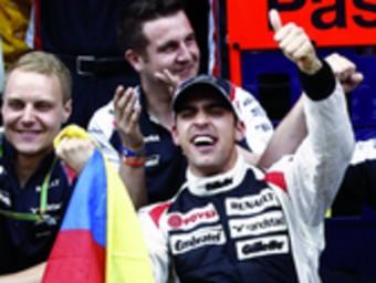 Maldonado, diumenge al Circuit de Catalunya EFE