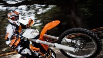 KTM continua fent passos de gegant en l'evolució dels seus models off road. La generació 2013 comprèn 26 nous productes amb els d'enduro com a referència.