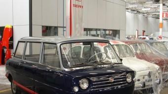 El 600 Savio i el 1400 Visitas eren unitats especials pels desplaçaments dins la fàbrica de visitants il·lustres. J.C.