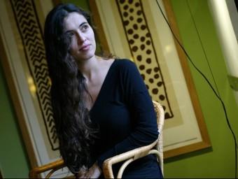 Sílvia Pérez Cruz, en una imatge del 4 de novembre passat QUIM PUIG