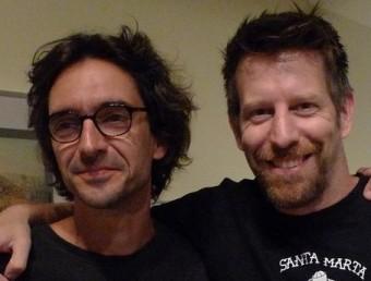 Gerard Argemí i Andrew Tarbet, codirectors del festival, ahir al Museu del Cinema J.C.L