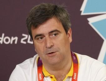 Miguel Cardenal, durant els Jocs de Londres EFE