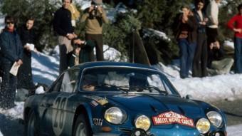 Ove Andersson, camí del triomf al Ral·li de Montecarlo 1971. RENAULT