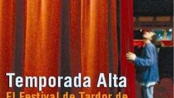 El festival Temporada Alta, a la portada del suplement 'Cultura' d'aquesta setmana EL PUNT AVUI