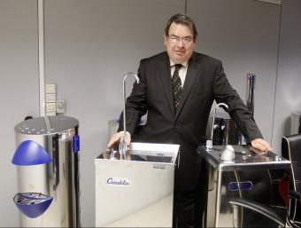 El director general de Canaletas, Jordi Morera.  ORIOL DURAN