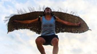 Pere Hosta és el 'Pàjaru' , en una imatge promocional JORDI GESTI