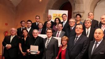 Els guardonats.  ELS PREMIATS PER LA GENERALITAT DE TURISME 2012