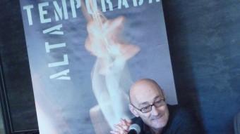 Salvador Sunyer, ahir a la presentació del balanç de Temporada Alta 2012, al Teatre Municipal de Girona Foto:X.C