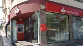 El Santander va ser la primera entitat a utilitzar la modalitat de l''scrip dividend'.  ARXIU /OSCAR PINILLA