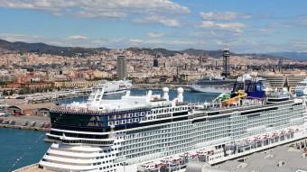 Barcelona té un port i un aeroport de primera, segons va destacar Santi Vila. EL PUNT AVUI